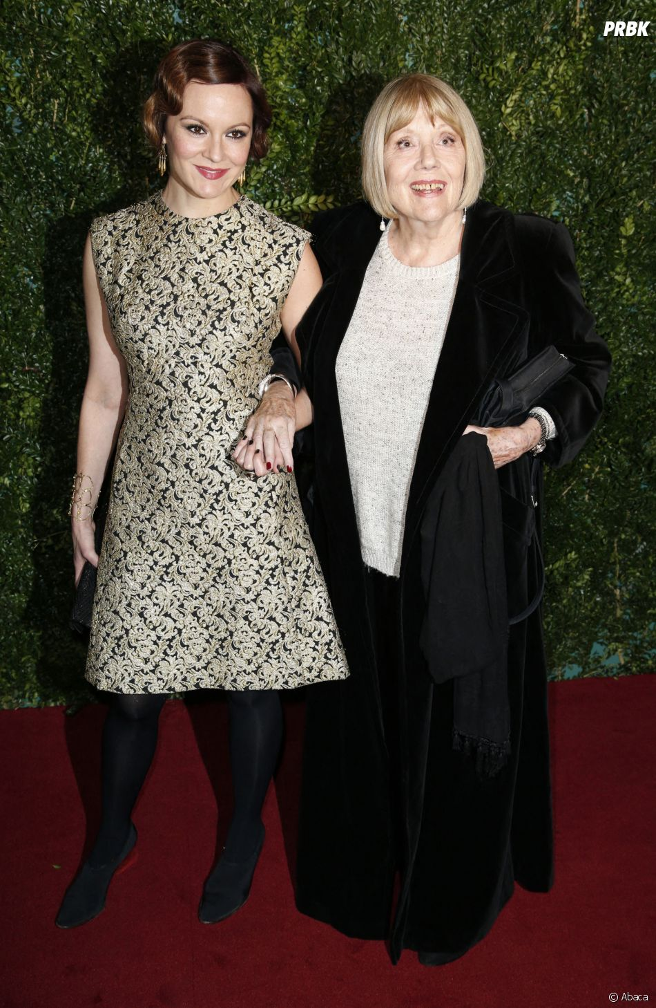 Diana Rigg et sa fille Rachael Stirling