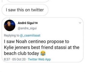 Noah Centineo marié à Anastasia Karanikolaou (alias Stassie, la BFF de Kylie Jenner) ? La folle rumeur