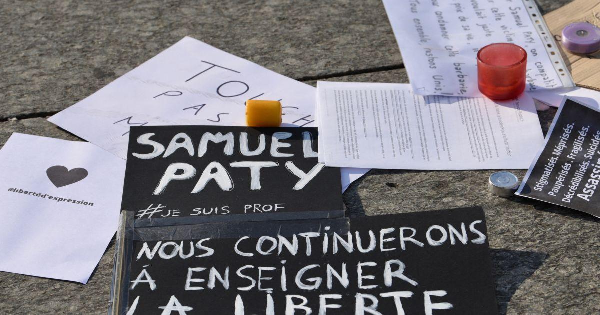 Hommage national à Samuel Paty : ce qu'il faut savoir sur ...  |Samuel Paty