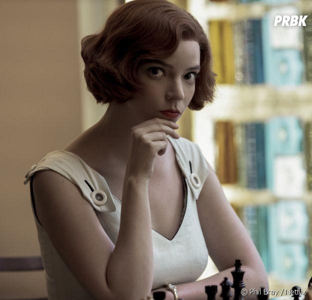 Le Jeu de la dame : Anya Taylor-Joy ne savait pas jouer aux échecs avant le tournage