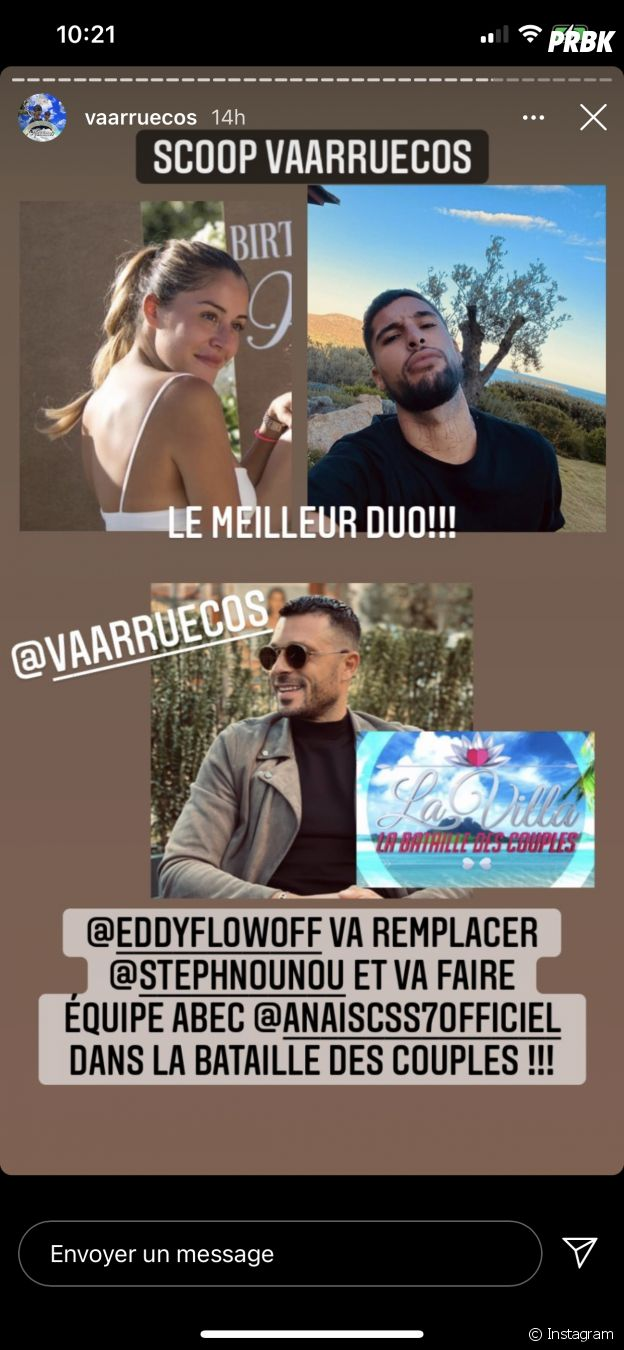 La Bataille des couples 3 : Anaïs Camizuli et Eddy ensemble au casting ?