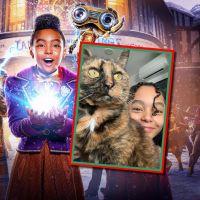 Jingle Jangle (Netflix) : Madalen Mills heureuse d'être confinée... avec son chat