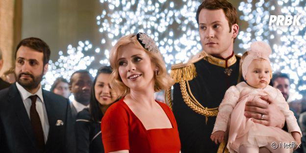 Amber et Richard dans A Christmas Prince font une apparition dans La Princesse de Chicago 2