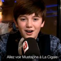 Greyson Chance ... A son tour de faire la promo de Mustapha El Atrassi