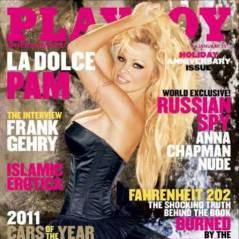 Pamela Anderson nue ... Voilà la couverture de Playboy pour janvier 2011