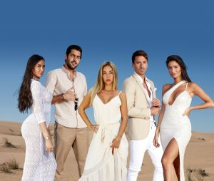 Les Marseillais à Dubaï : Marine El Himer, Alex, Maddy Burciaga, Flo et Laura
