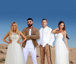 Les Marseillais à Dubaï : Luna, Illan, Sandro et Lena