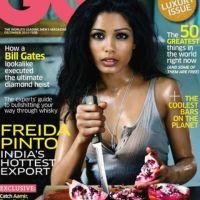 Freida Pinto ... Sa photo choc en couv du GQ indien