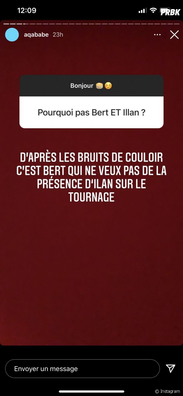Illan exclu de l'émission Le Reste du monde à cause de Julien Bert ?