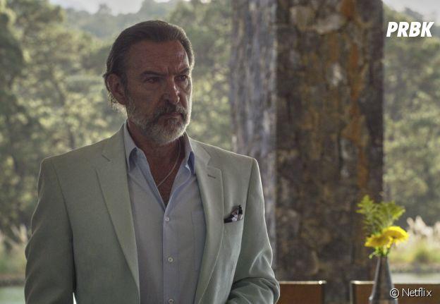 Qui a tué Sara saison 2 ? : Cesar Lazcano (Ginés García Millán)