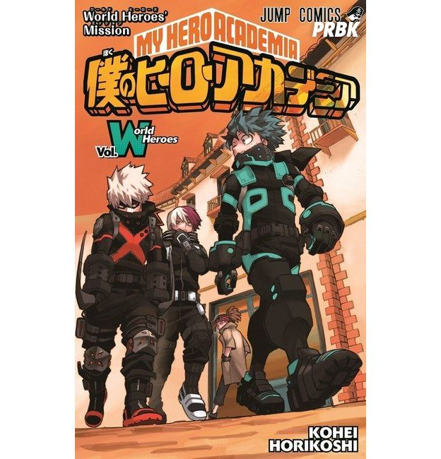 My Hero Academia Vol World Heroes : un manga inédit signé Kôhei Horikoshi pour la sortie du troisième film