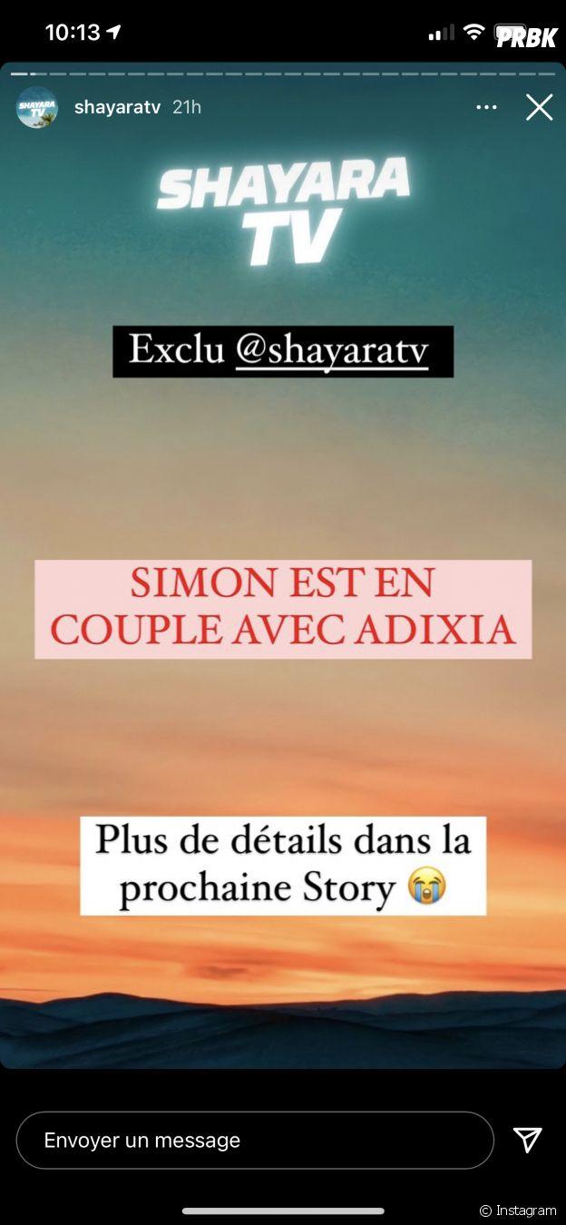 Adixia en couple avec Simon Castaldi dans Les Marseillais VS Le reste du monde 6 ?