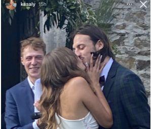 Roméo Elvis marié à Lena Simonne : des photos de la cérémonie dévoilées par des invités