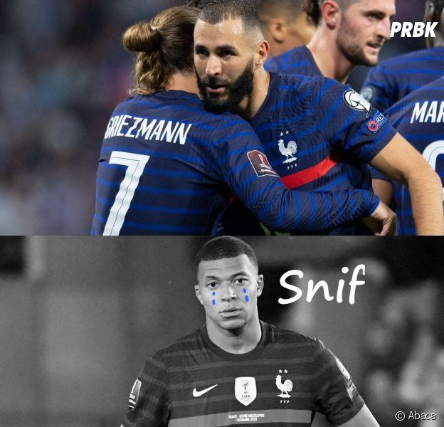 Antoine Griezmann et Karim Benzema brillent à deux, Kylian Mbappé moqué sur Twitter