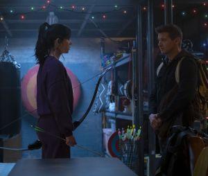 Hawkeye : Hailee Steinfeld et Jeremy Renner dans la série