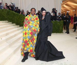 Rihanna et ASAP Rocky au MET Gala 2021 le 13 septembre à New York