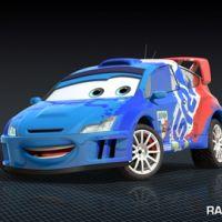 Cars 2 ... La voiture française dévoilée