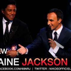 Jermaine  Jackson ... en interview sur le 6-9 de NRJ