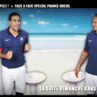 L'Equipe de France de foot prête à danser la samba face au Brésil ... la vidéo buzz