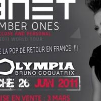 Janet Jackson ... En concert à Paris le 26 juin 2011
