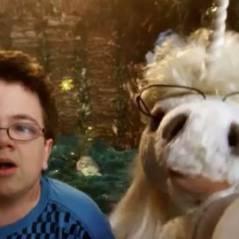 Keenan Cahill ... Sa nouvelle vidéo ... Avec une licorne
