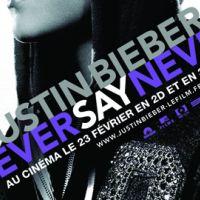 Justin Bieber ... Never Say Never bien parti pour détrôner Hannah Montana