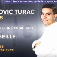 Top Chef 2011 ... Ludovic éliminé hier ... sa recette coup de coeur