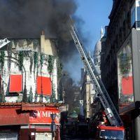 L'Elysée Montmartre victime d'un incendie