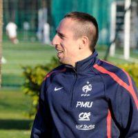 Franck Ribéry ... Les premières photos de son retour en équipe de France