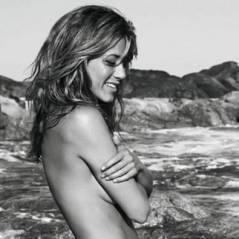 Jennifer Aniston ... Elle se met à nue pour son parfum (PHOTO)