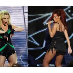 Rihanna ... elle adore la voix de Britney dans S&M (audio)