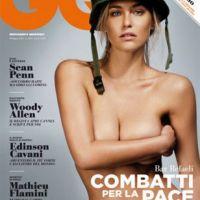Bar Rafaeli nue .... elle pose topless en Une de GQ (VIDEO)