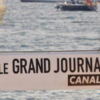 Le Grand Journal de Cannes ... Pedro Almodovar et l'équipe de La Conquête en plateau