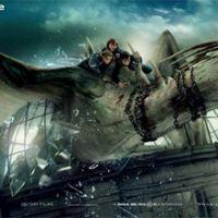 Harry Potter et les reliques de la mort partie 2... le Dragon de Gringotts a son poster
