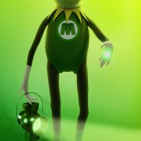 Les Muppets en VIDEO... Ia parodie de Green Lantern