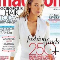Blake Lively ... belle et naturelle en couverture de Madison