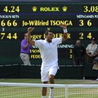 Wimbledon 2011 en photos : Tsonga bat Federer devant Pippa Middleton