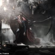 Man of Steel : Henry Cavill impressionnant dans le costume de Superman