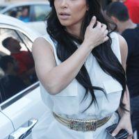 J-1 - Kim Kardashian s'active pour son mariage : 50 invités en moins et une robe ... rouge