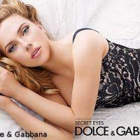 PHOTOS - Scarlett Johansson : Très sexy dans les pubs Dolce & Gabbana