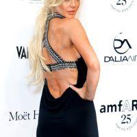 Lindsay Lohan : 100% glamour pour la bonne cause (PHOTOS)