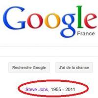 Steve Jobs est mort : Google lui rend hommage et Apple créé une adresse mail