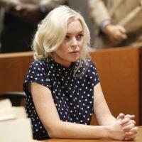 Lindsay Lohan : prison au menu de sa fin d'année (PHOTOS)