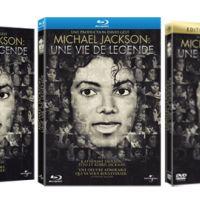Michael Jackson ''une vie de légende'' en DVD et Blu-Ray aujourd'hui (VIDEO)