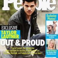 Taylor Lautner fait son coming-out dans une fausse couverture de People (PHOTO)