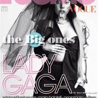 Lady Gaga (encore) nue : son sein bionique pour un magazine italien