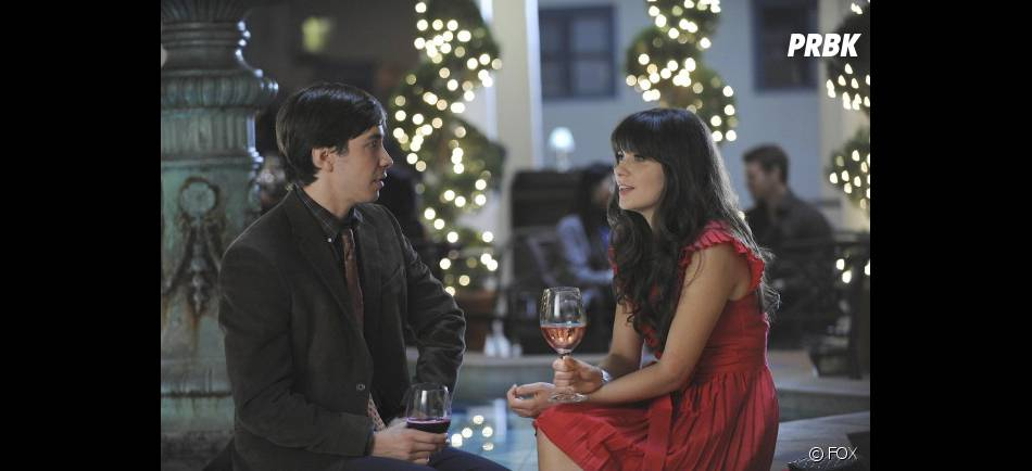 Justin Long et Zooey Deschanel dans New Girl