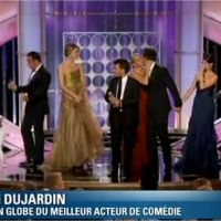 Golden Globes 2012 : Jean Dujardin tellement happy (AUDIO)