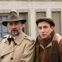 Antoine Duléry et Marius Colucci dans Agatha Christie, c'est fini