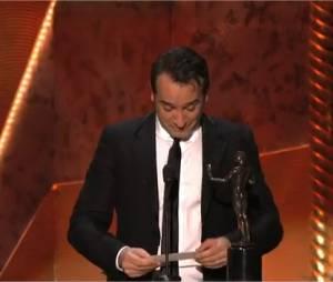 Jean Dujardin reçoit le prix du meilleur acteur aux SAG Awards